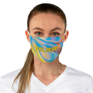 Believe - Law of Attraction Fabric Face Mask