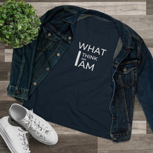 Load image into Gallery viewer, Law of Attraction Women's Premium Tee - What I Think I Am I Am