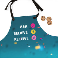 Load image into Gallery viewer, Law of Attraction Aprons - Ask Believe Receive
