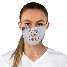 Load image into Gallery viewer, Fabric Face Mask - Keep The Faith