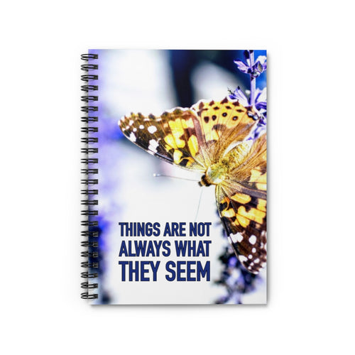 Law of Attraction Notebook - Things Are Not Always What They Seem