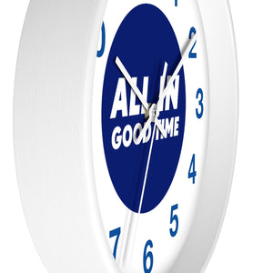 All in good time - Law of Attraction Wall Clocks