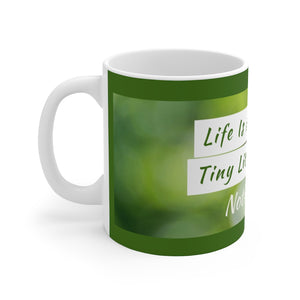 Law of Attraction Mug - Life Is A Series Of Tiny Little Miracles Notice Them