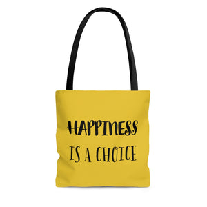 Law of Attraction Bag - Happiness Is A Choice