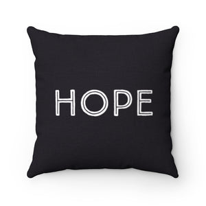 Law of Attraction Cushion Hope Balck