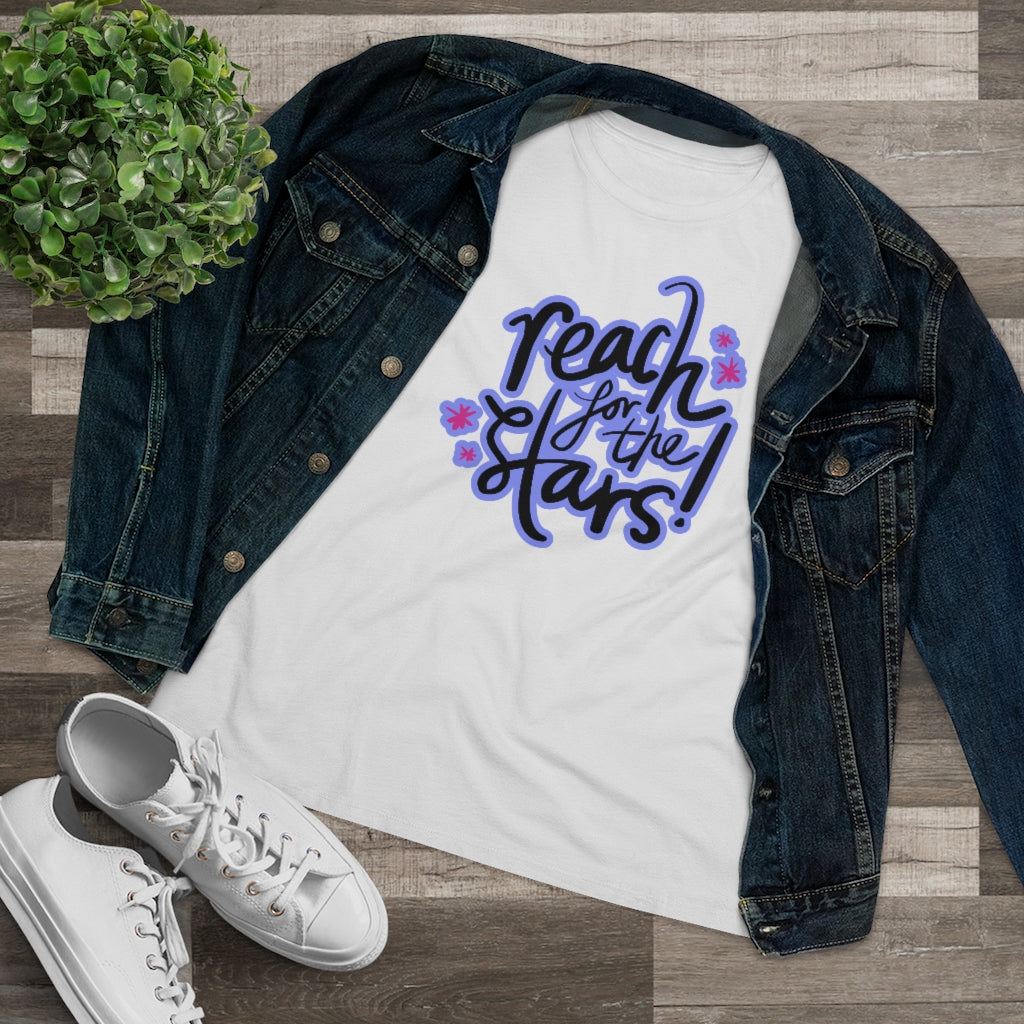 Law of Attraction Women's Premium Tee  - Reach For The Stars