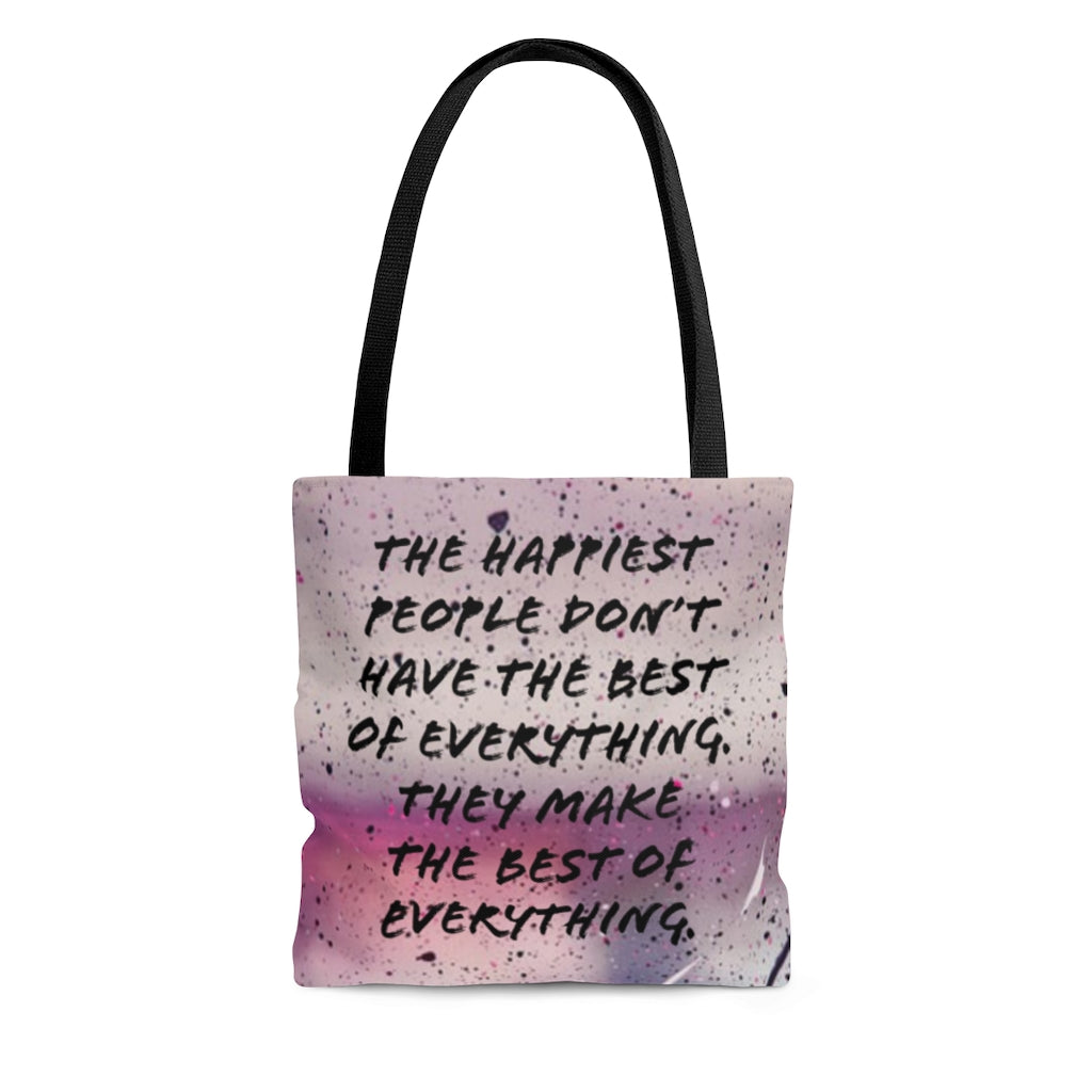 Law of Attraction Tote Bag - The Happiest People