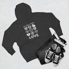 Load image into Gallery viewer, Law of Attraction Black Hoodie - So Many Ways to Love