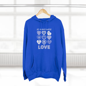 Premium Law of Attraction Hoodie - So Many Ways To Love