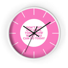 Load image into Gallery viewer, Law of Attraction Wall Clocks