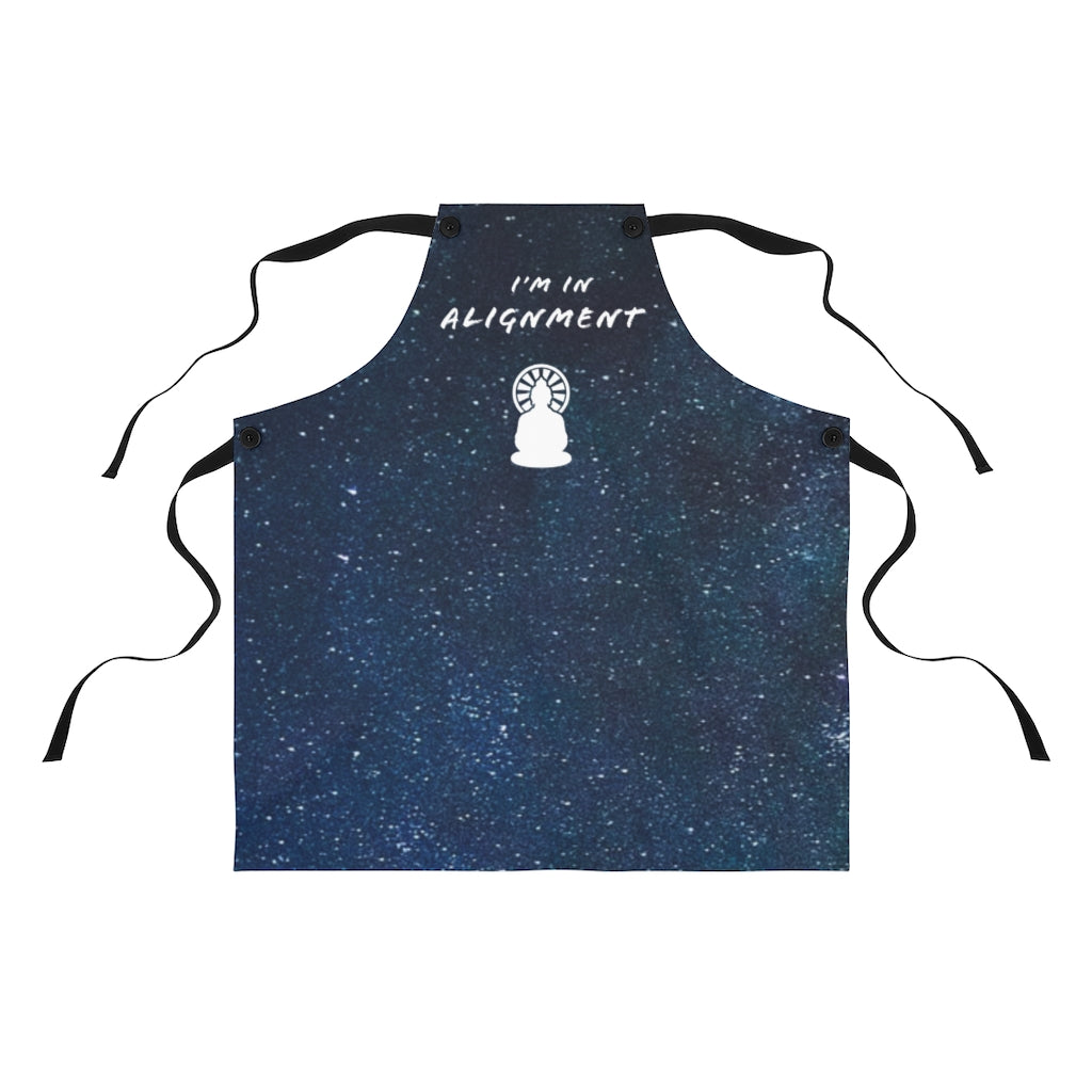 Law of Attraction Apron - I'm in Alignment