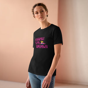 Law of Attraction Women's Premium Tee - Alignment Is My Super Power