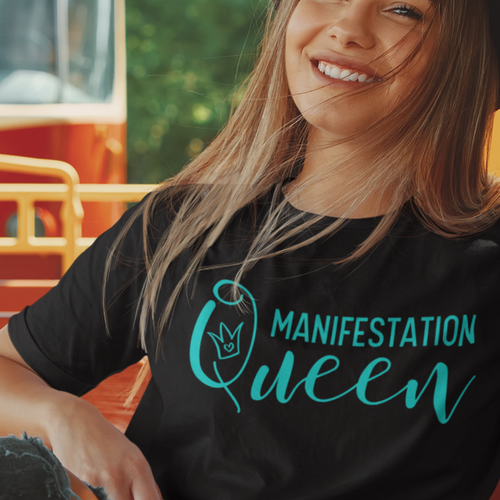 Law of Attraction T-shirt Manifestation Queen