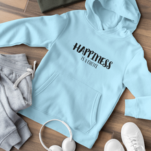 Load image into Gallery viewer, Law of Attraction Hooded Sweatshirt - Happiness Is A Choice