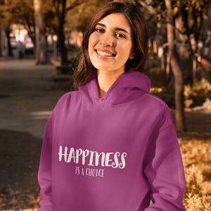 Law of Attraction Hoodie Happiness Is a Choice