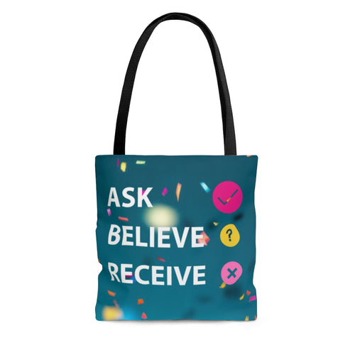 Law of Attraction Bag - Ask Believe Receive