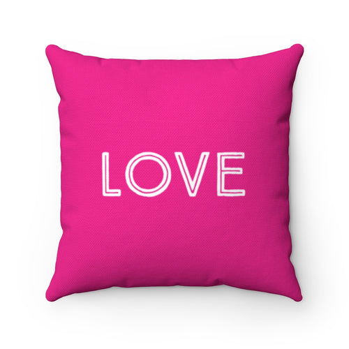 Law of Attraction Pillow Love Peace