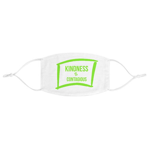 Law of Attraction Face Mask - Kindness Is Contagious