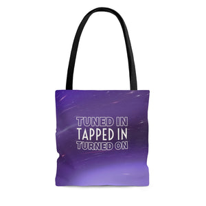 Law of Attraction Bag - Tuned In Tapped In Turned On