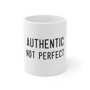 Law of Attraction Mug - Authentic Not Perfect