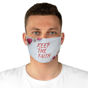Fabric Face Mask - Keep The Faith