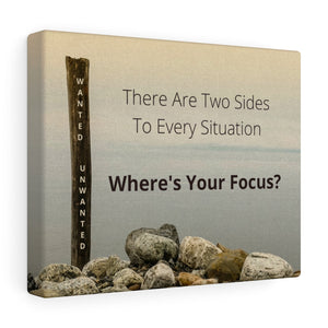 Canvas Wrap - Where's Your Focus?
