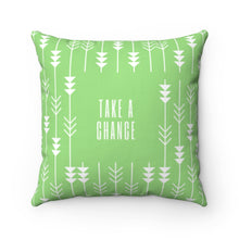 Load image into Gallery viewer, Take A Chance Law of Attraction Pillow