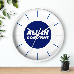 Law of Attraction Clock - All in good time