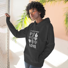 Load image into Gallery viewer, Black Hoodie - Law of Attraction Love