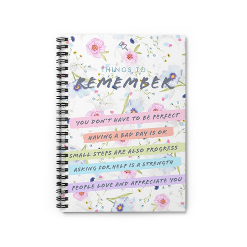 Law of Attraction Notebook - Things To Remember