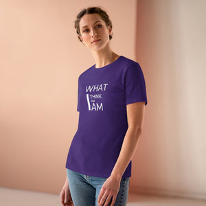 Law of Attraction Tee - What I Think I Am I Am