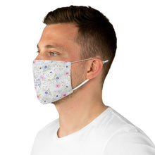 Load image into Gallery viewer, Fabric Face Mask - Things Are Always Working Out For Me