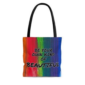 Law of Attraction Tote Bag - Be Your Own Kind Of Beautiful