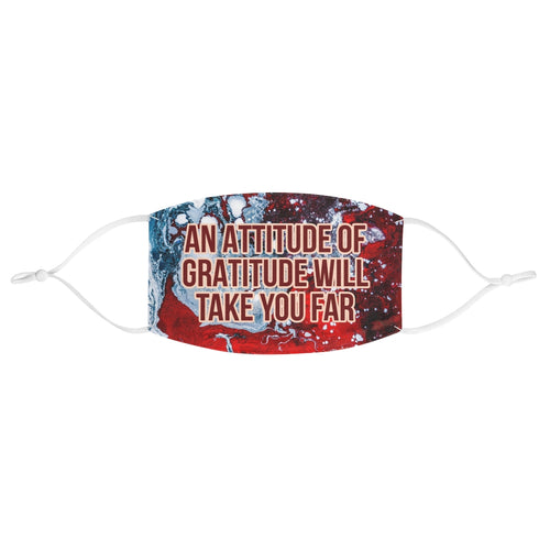 Law of Attraction Face Mask - An Attitude of Gratitude Will Take You Far