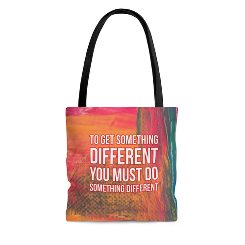 Law of Attraction Bag - To Get Something Different You Must Do Something Different