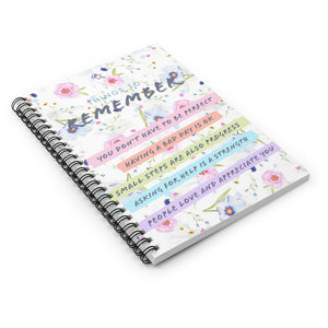 Law of Attraction Spiral Notebook - Things To Remember