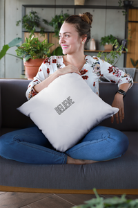 Law of Attraction Bible Pillow - BIBLE REFERENCE: MARK 9:23 - Believe