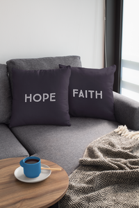 Faith Hope Law of Attraction Pillows