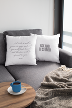 Load image into Gallery viewer, Law of Attraction Biblical Pillow - Ask And It Is Given - Bible Ref:  Mathew 7:7