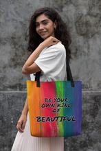 Load image into Gallery viewer, Law of Attraction Tote Bag - Be Your Own Kind Of Beautiful