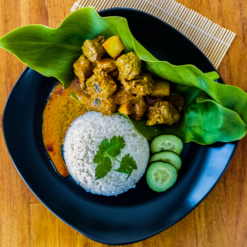 vegan rendang curry