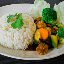 Load image into Gallery viewer, vegan kung pao chicken
