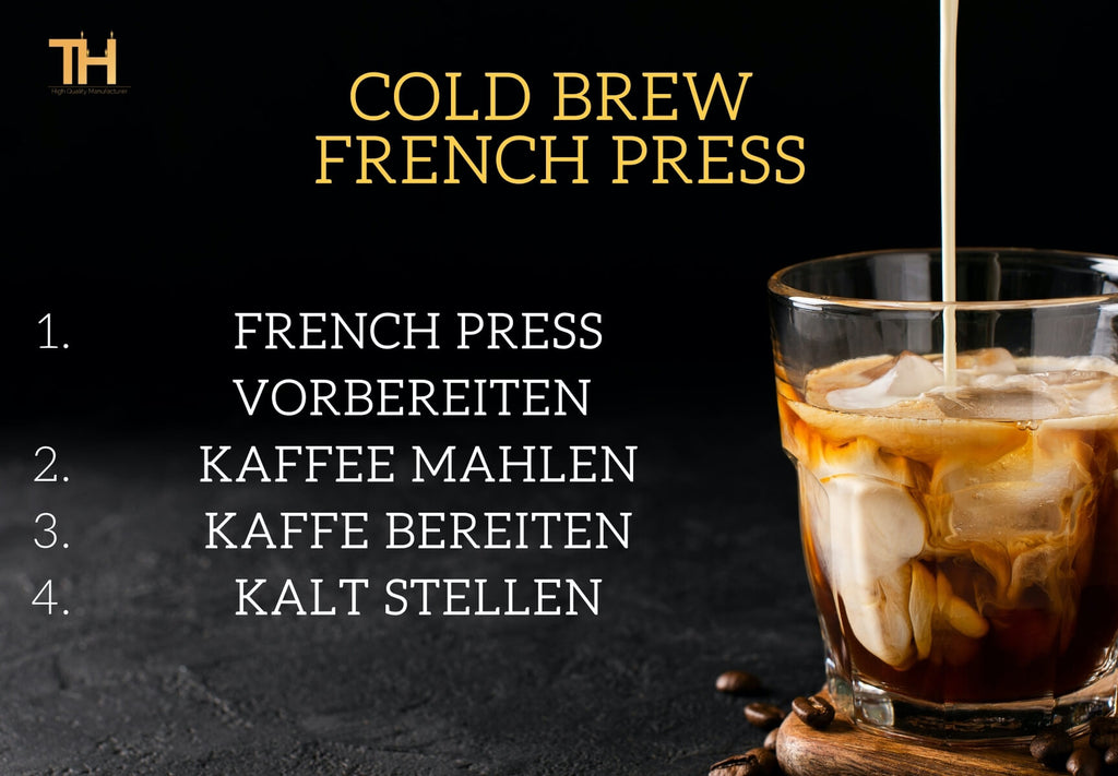 Cold Brew French Press Anleitung
