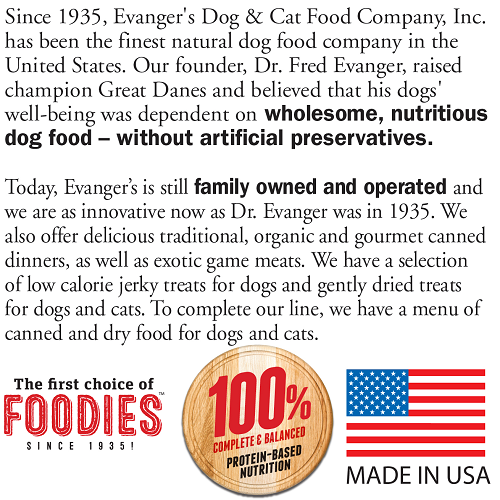 Evanger's Super Premium Lamb and Rice Grain-Free for Dogs