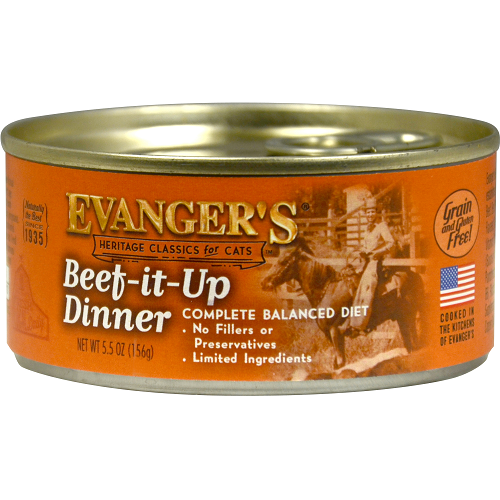 Evanger's Classic Beef It Up Dinner for Cats