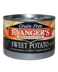 Evanger's Sweet Potato for dog ,cat, or pig
