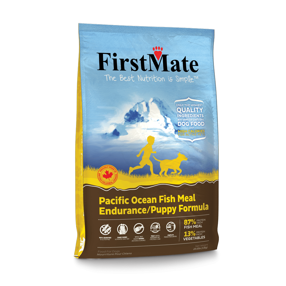 FirstMate-GrainFree-New-13kg-PacificOceanFish-Puppy-Left