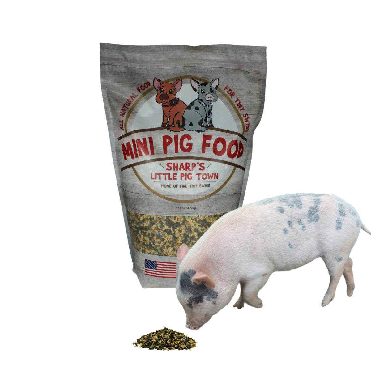 Sharp's Mini-Pig Food