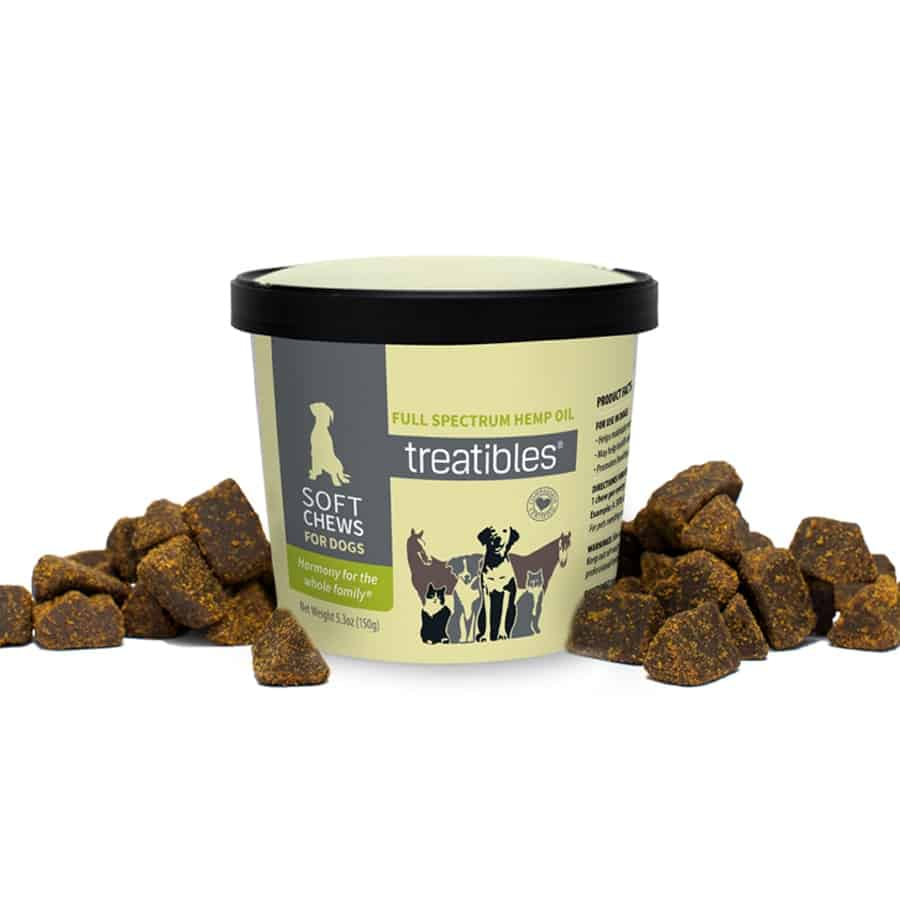 Treatibles Hemp Dog Soft Chews