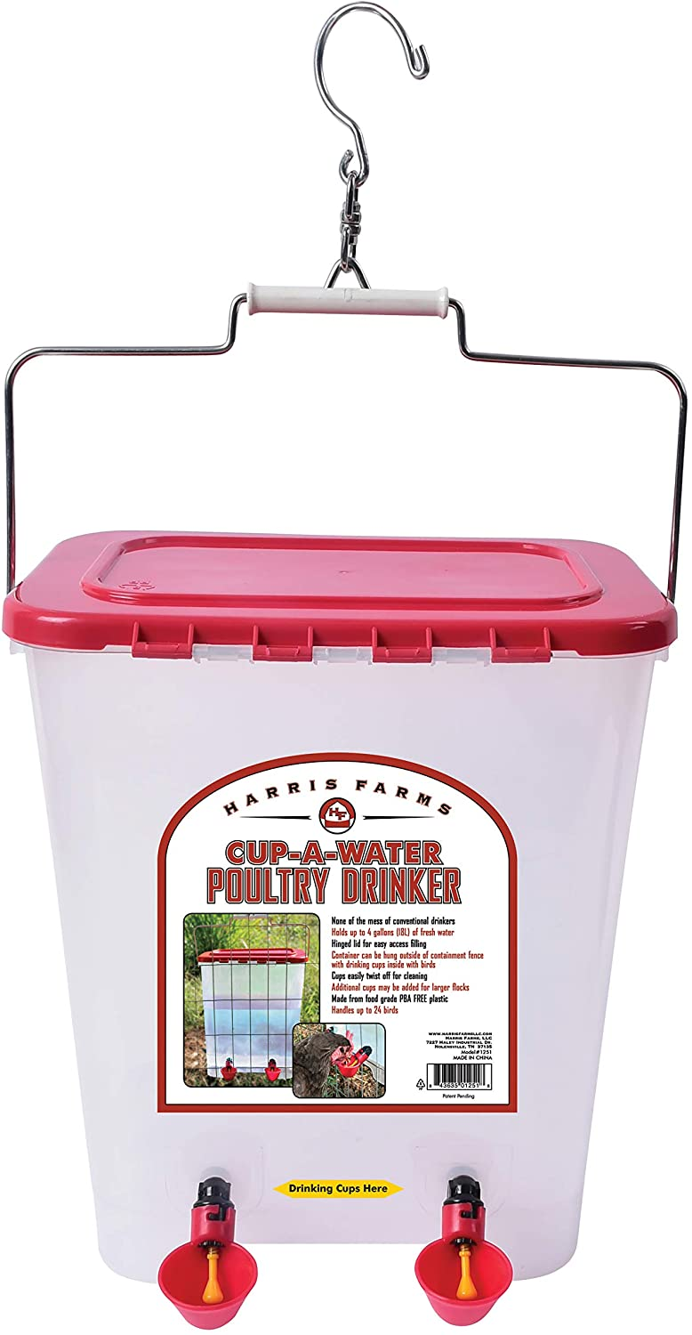 Drinker Cup Waterer for Chickens